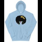 sweatshirt-capuche-queen-afro-bleu