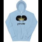 sweatshirt-capuche-princess-bleu