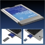 Adaptateur 5 en 1 Carte PCMCIA
