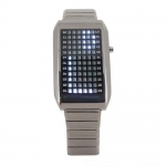 Montre Digitale 72 LED Blanches