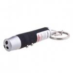 Porte Clé Lampe Torche / Laser / Lampe UV 3 en 1