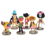 Figurines One Piece (Lot de 6)