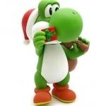 Figurine Yoshi Père Noël