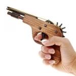 Pistolet en Bois Lance Elastiques