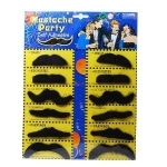Fausses Moustaches (Lot de 12)