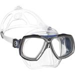 Masque de plongée a la vue LOOK 2 cristal bleu - demetz