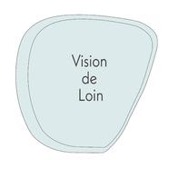 VERRE VISION DE LOIN