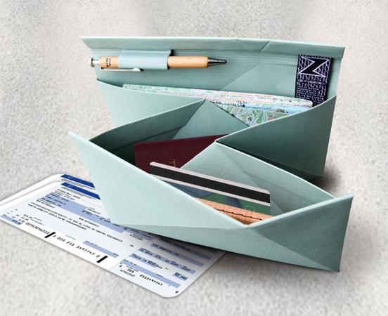 Organisateur de documents origami