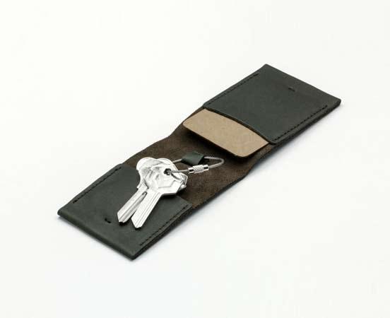 Etui porte-clés en cuir