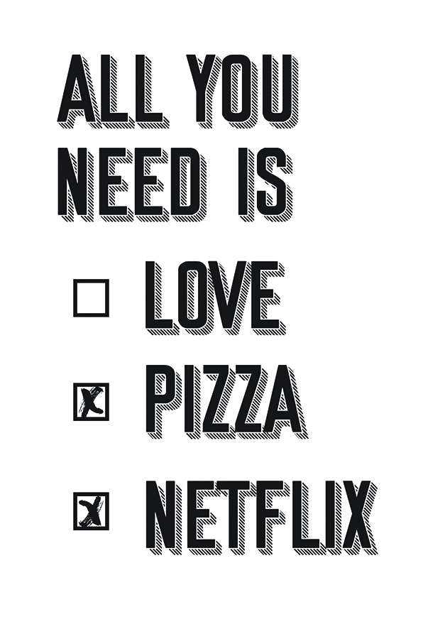 Affiche All you need Keskes