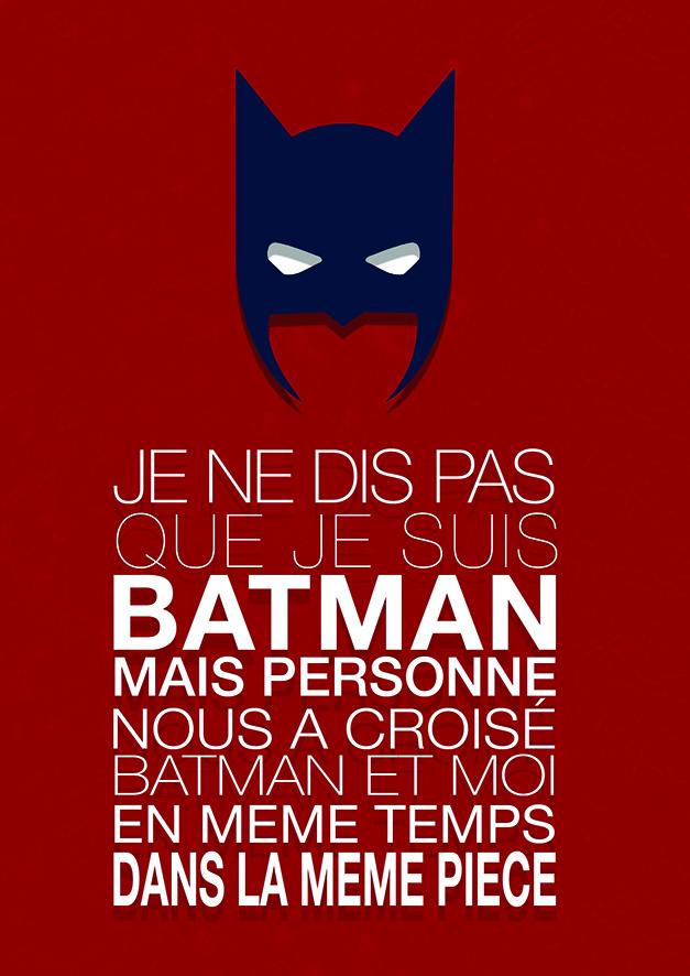 Affiche Batman Keskes