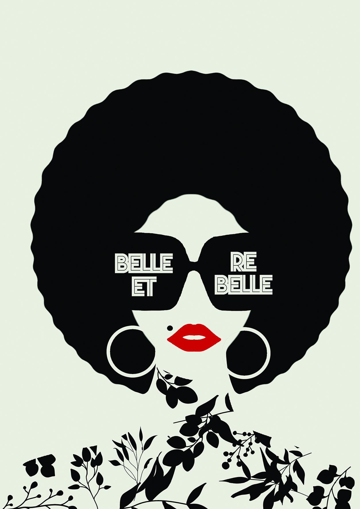 Affiche Belle et rebelle Keskes