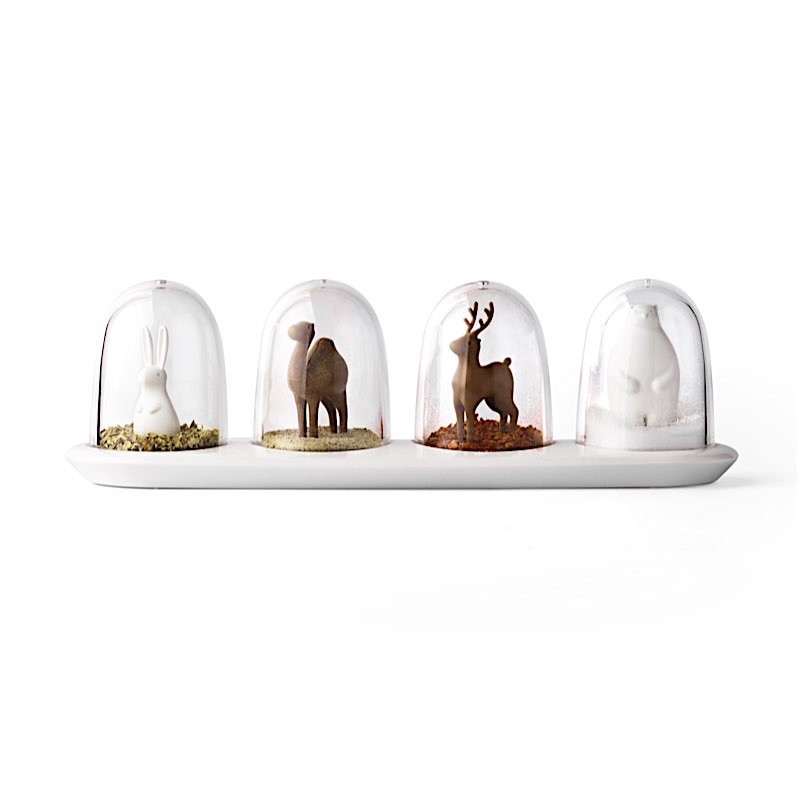 STEMPLS & CO Animaux parades Epices Shaker