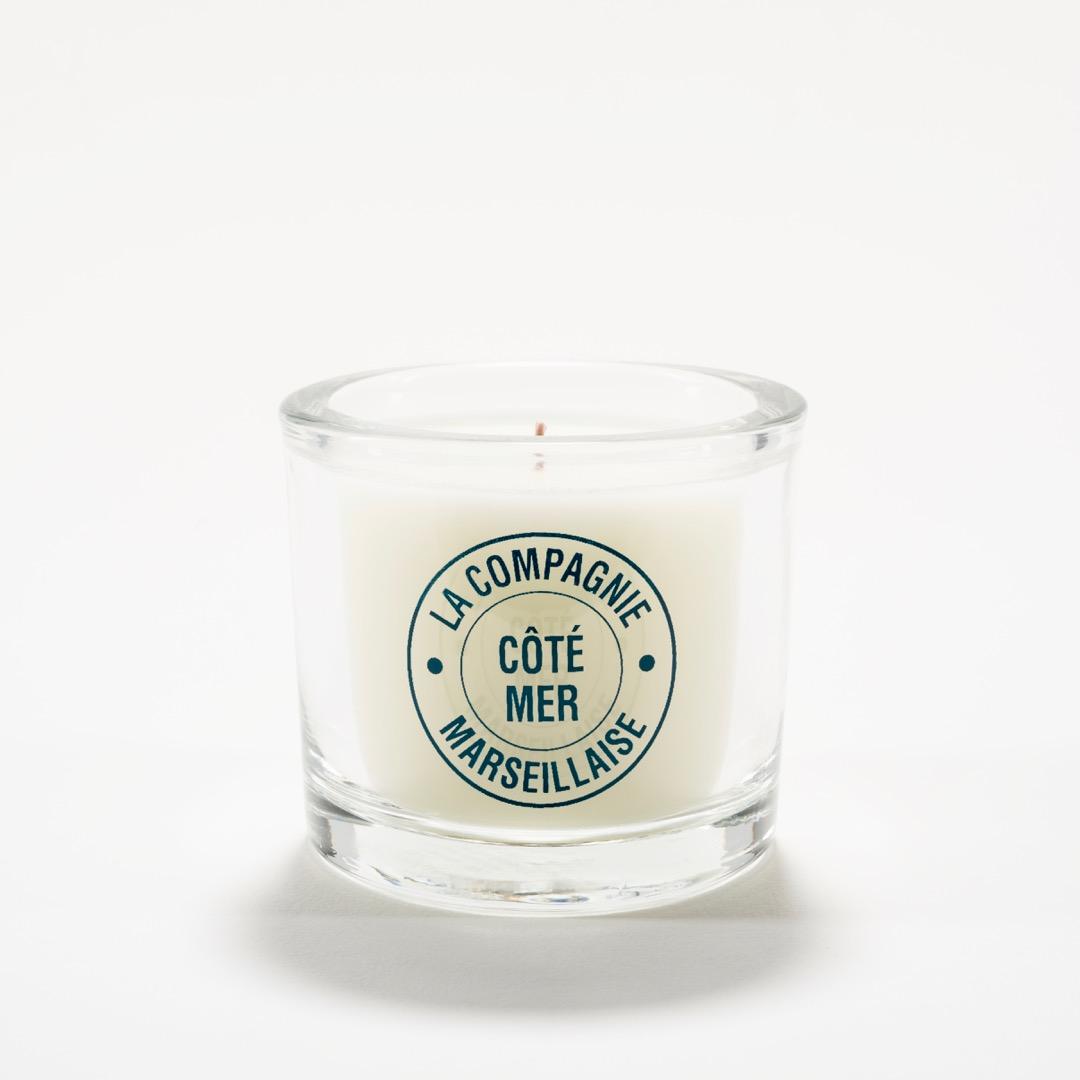 LA COMPAGNIE MARSEILLAISE Bougie Parfumée Côté Mer