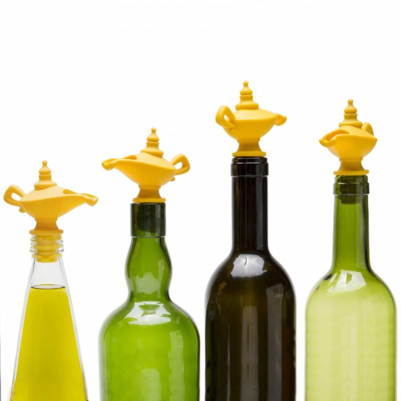 Oiladdin bouche et bec verseur pour l\'huile en silicone.