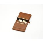 portefeuille-porte-monnaie cuir-Lakange marron2