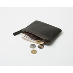 Porte monnaie zippé noir Lakange1