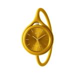 TAKE TIME ORIGINAL montre 3en1 jaune moutarde KESKES