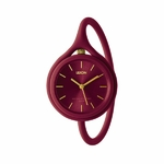 TAKE TIME ORIGINAL montre 3en1 rouge framboise KESKES