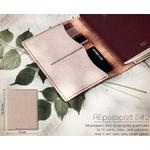 KesKes protege passport cuir recycle-Lakange crème3
