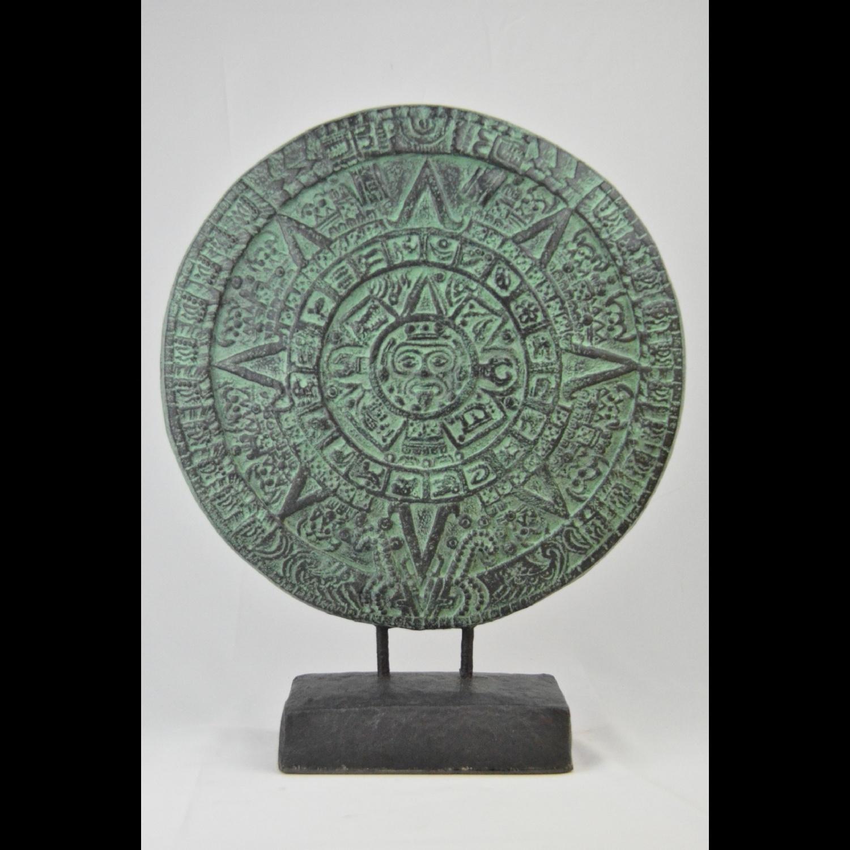 Décoration sur Socle Calendrier Maya