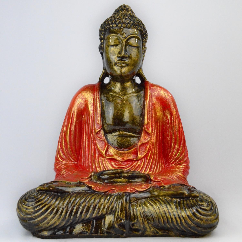 Bouddha Méditation en Résine