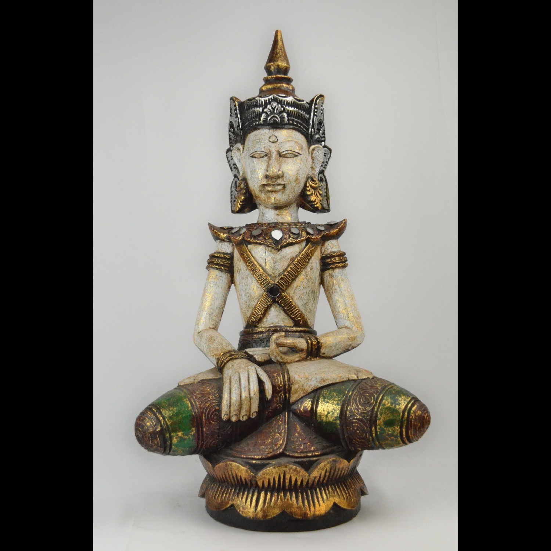 Bouddha en bois d\'albesia