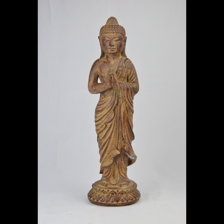 Bouddha Debout en Pierre