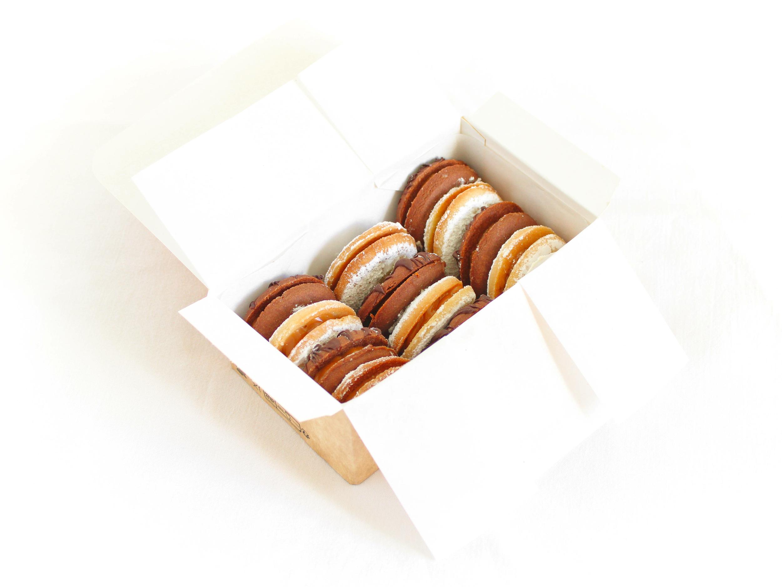 Coffret mélange - 12 biscuits