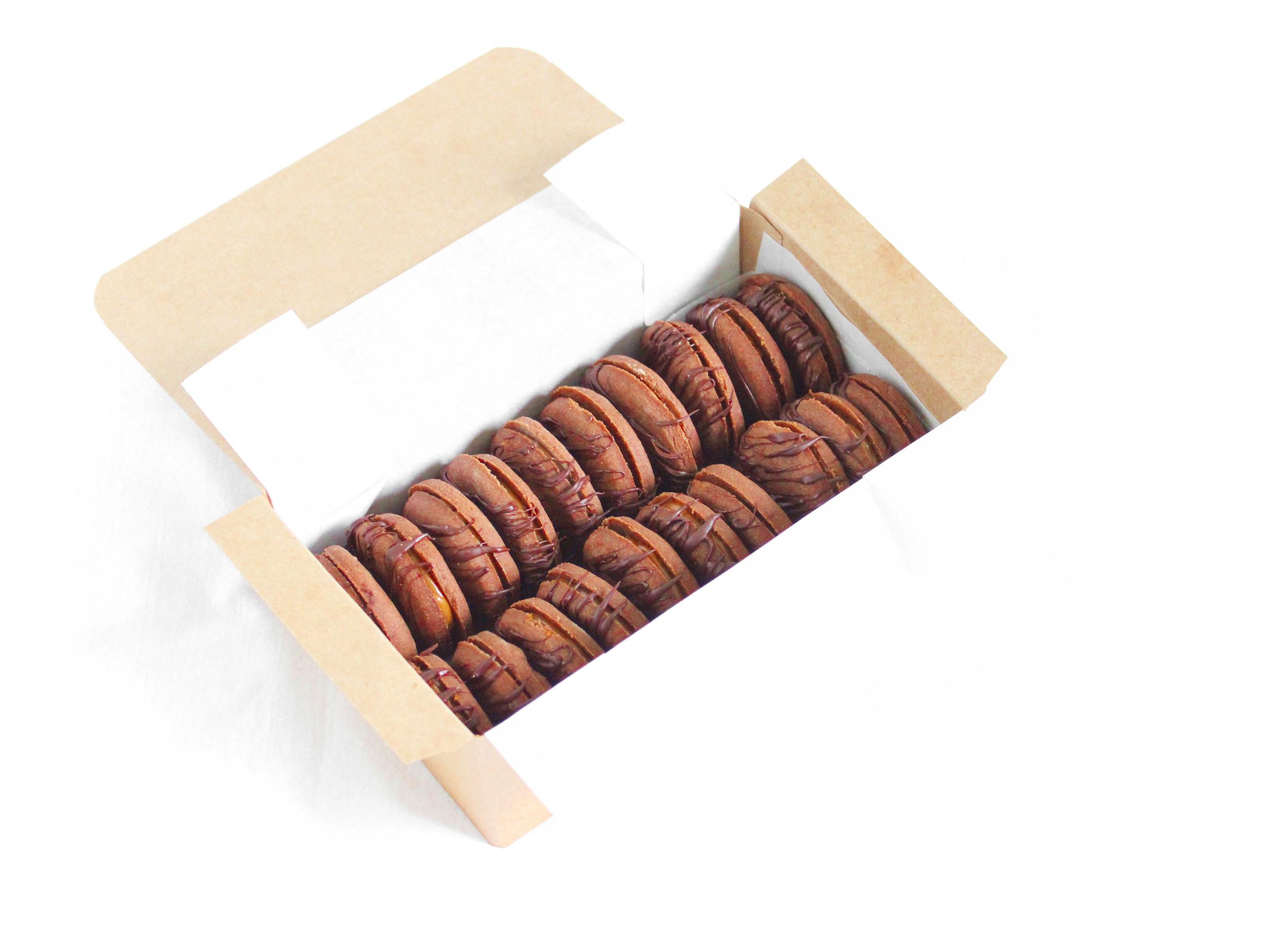 Coffret chocolat - 20 biscuits
