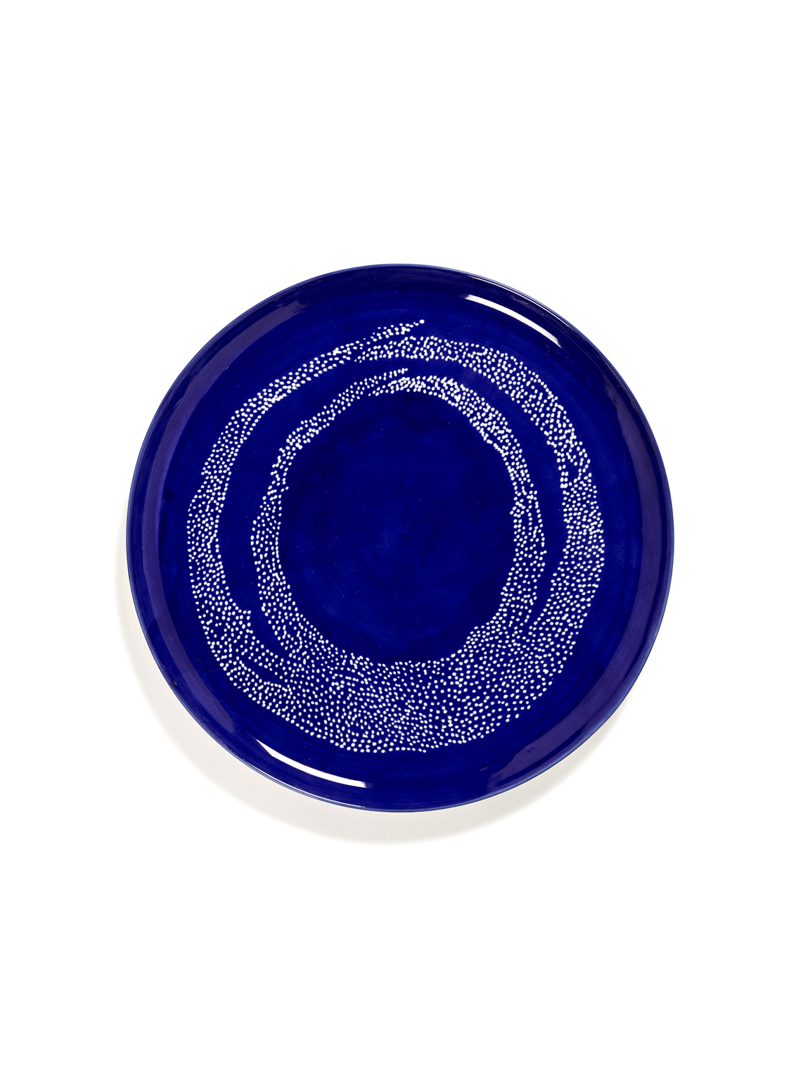 assiette de service feast lapis lazuli 35x35x2 B8921007I