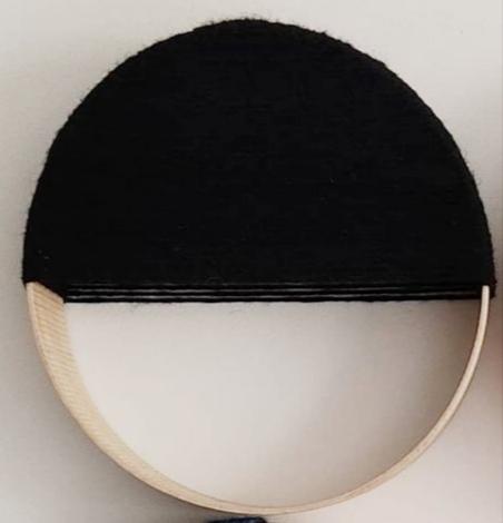 demi loop noir