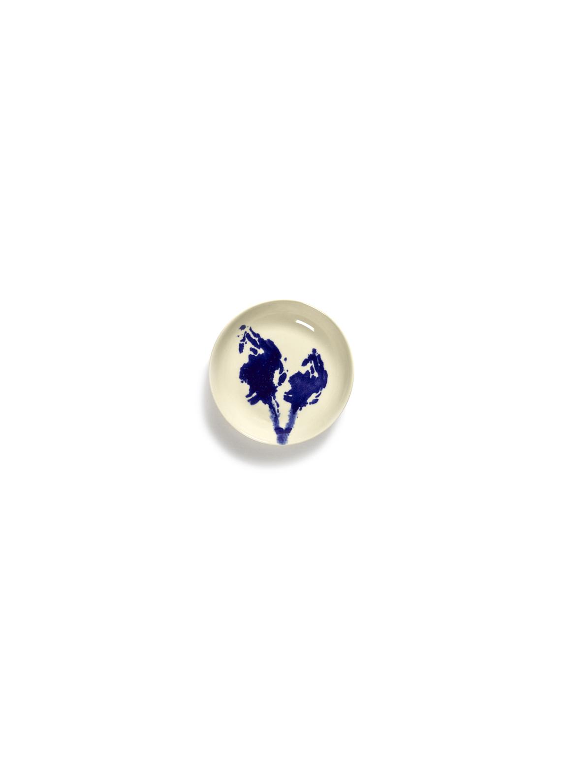 plat feast S 11,5x11,5x2cm blanc artichaut bleu B8921002Ts1-new