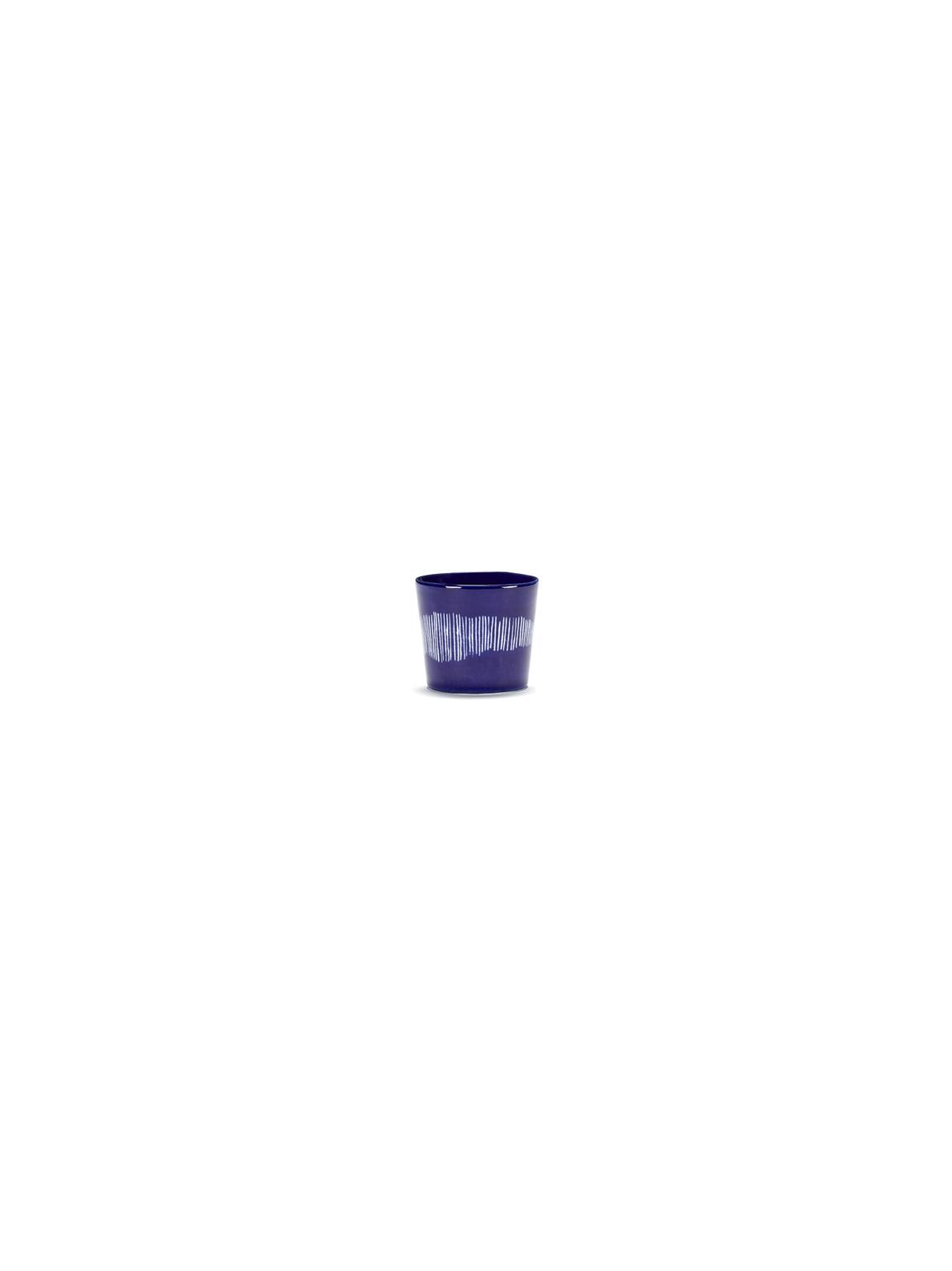 tasse à expresso feast 15cl lapis lazuli swirl stripes blanc b8921017a (1)