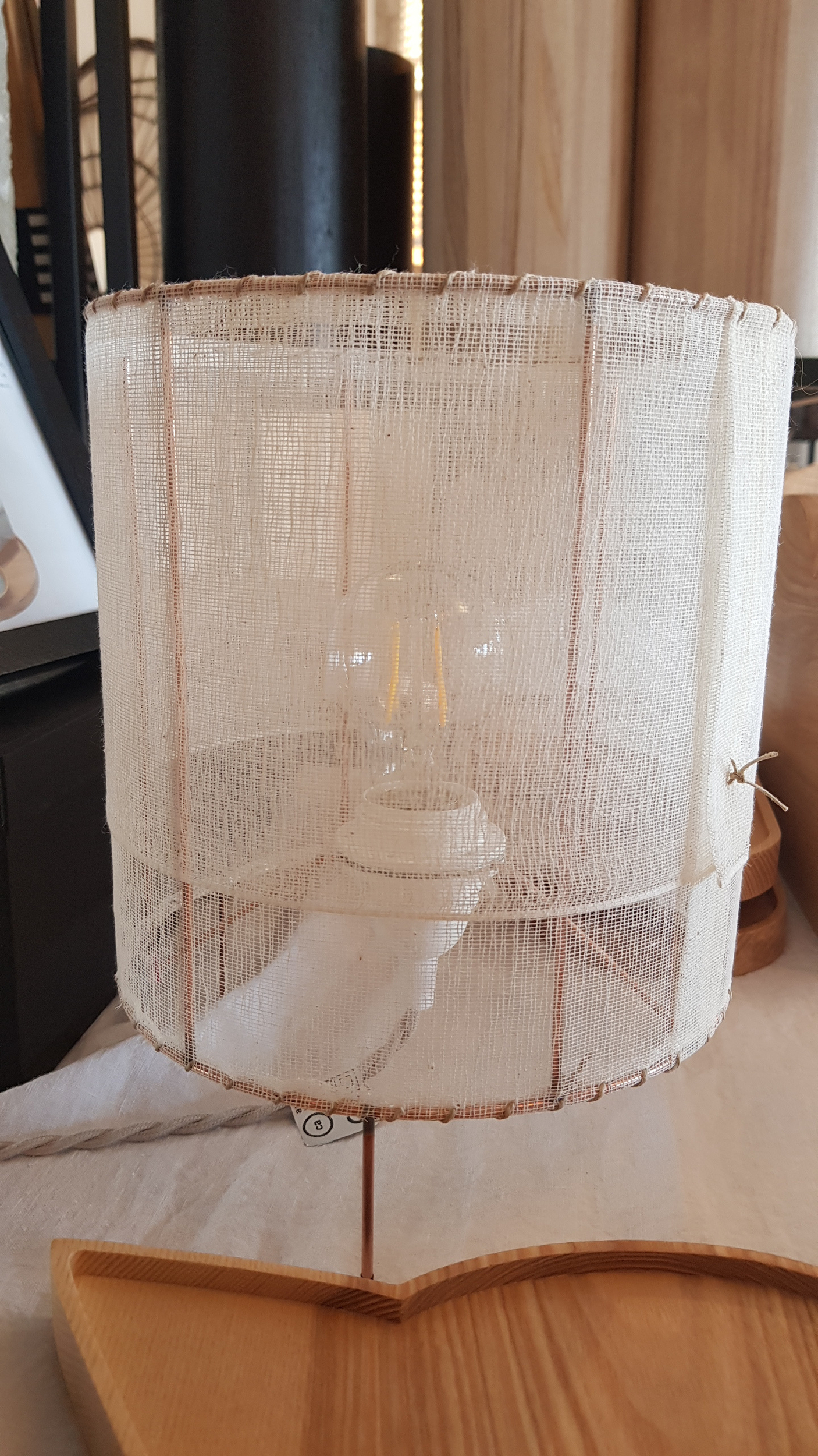 Lampe à poser 20x20 cherie cherie