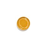 assiette feast s jaune et blanc 19x19x2 B8921004D