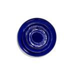 assiette de service feast lapis lazuli 35x35x2 B8921007I (4)