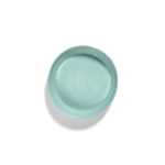 Plat de service FEAST azure swirl rayures rouges B8921013E (2)