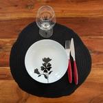 set de table lib noir 2