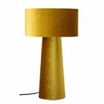 Lampe de table Daphna jaune polyester Bloomingville 145€