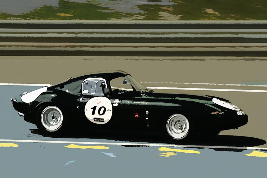 Jaguar Lightweight E-Type L6 1963 49 FXN
