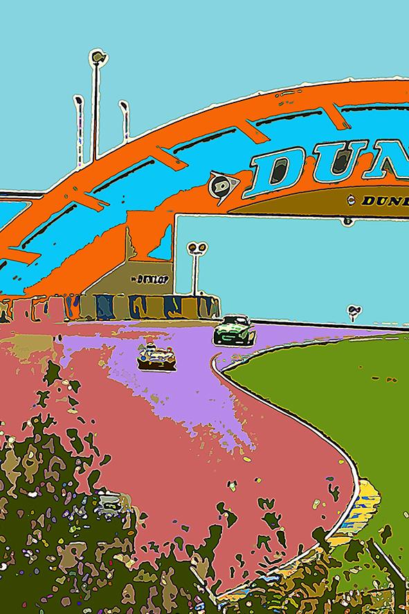 Dunlop circuit 24 H 00 Du Mans