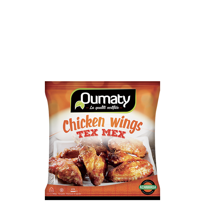 Chicken wings texmex
