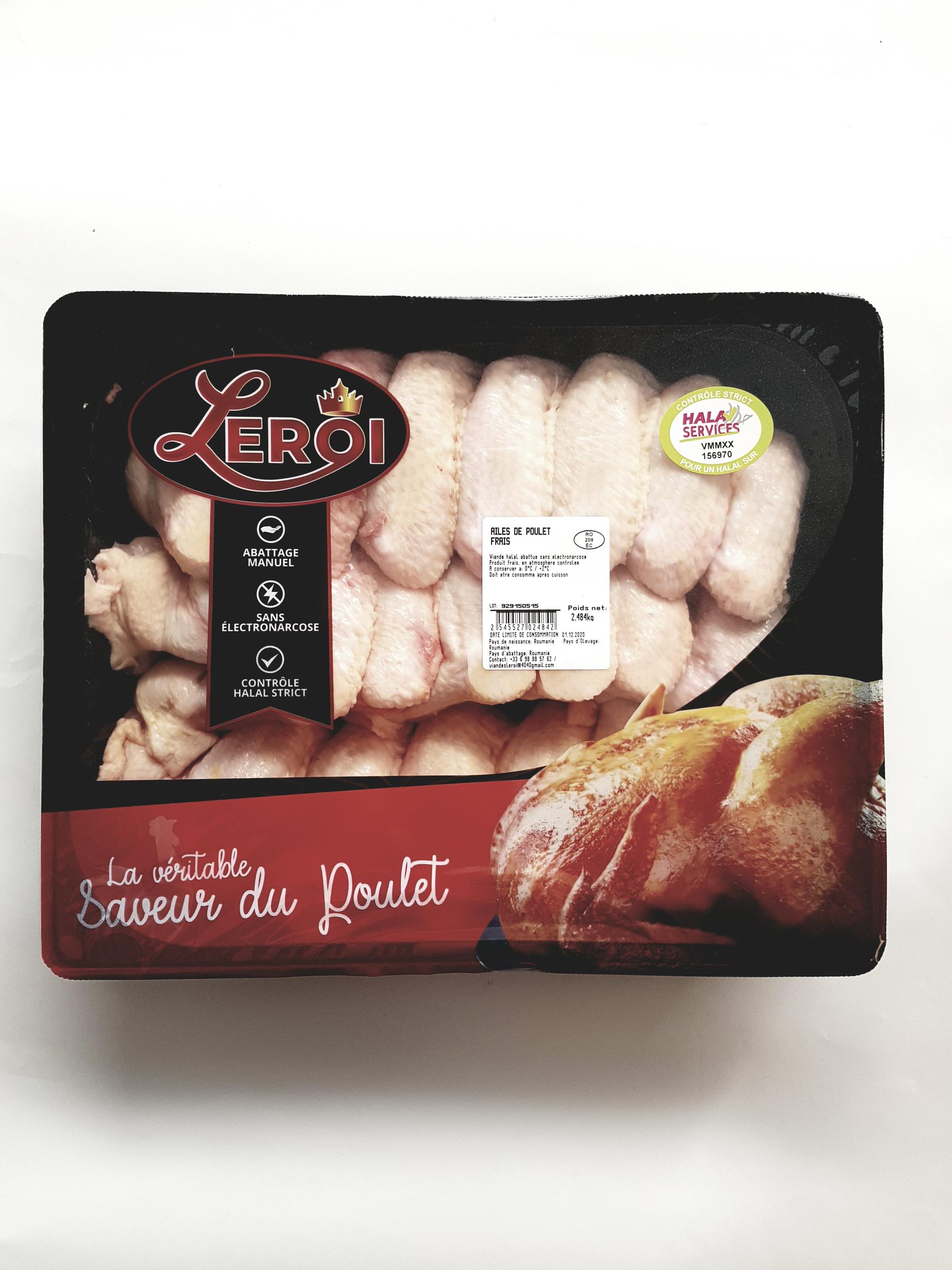Ailes de poulet Halal Services