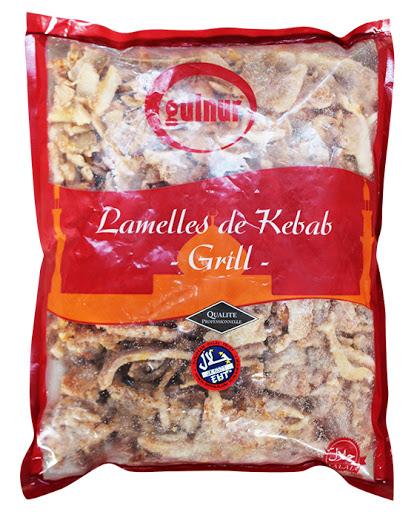Kebab lamelles premium