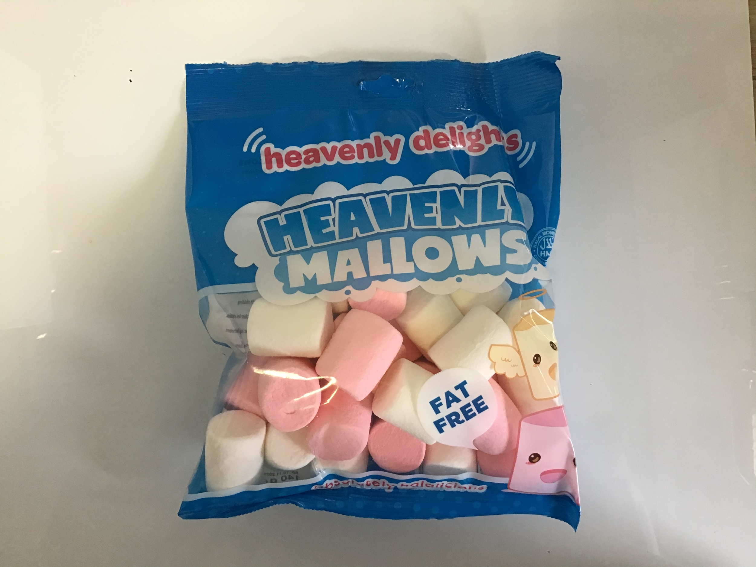 Bonbon halal heavenly mallows