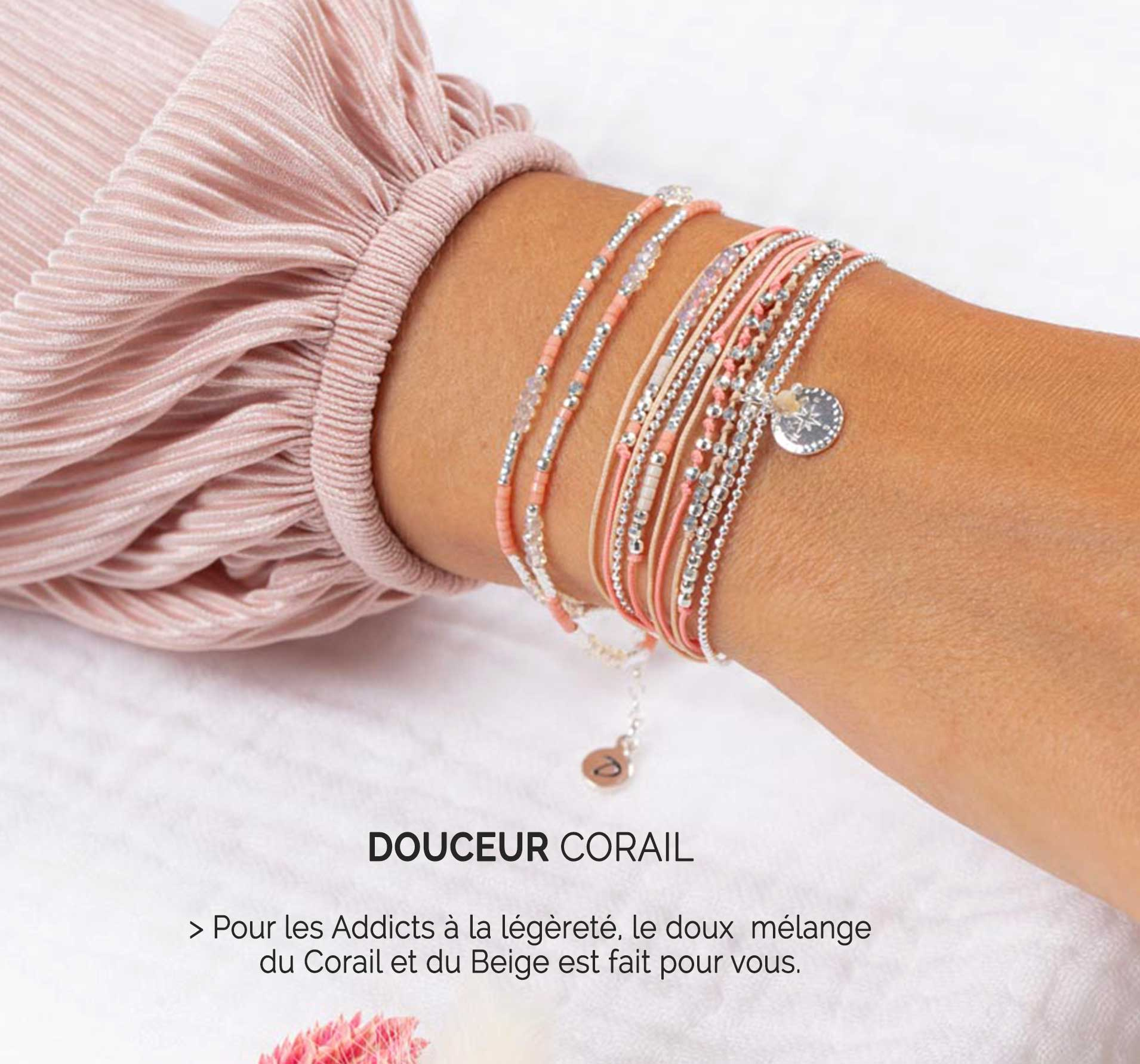 Collection Douceur Corail