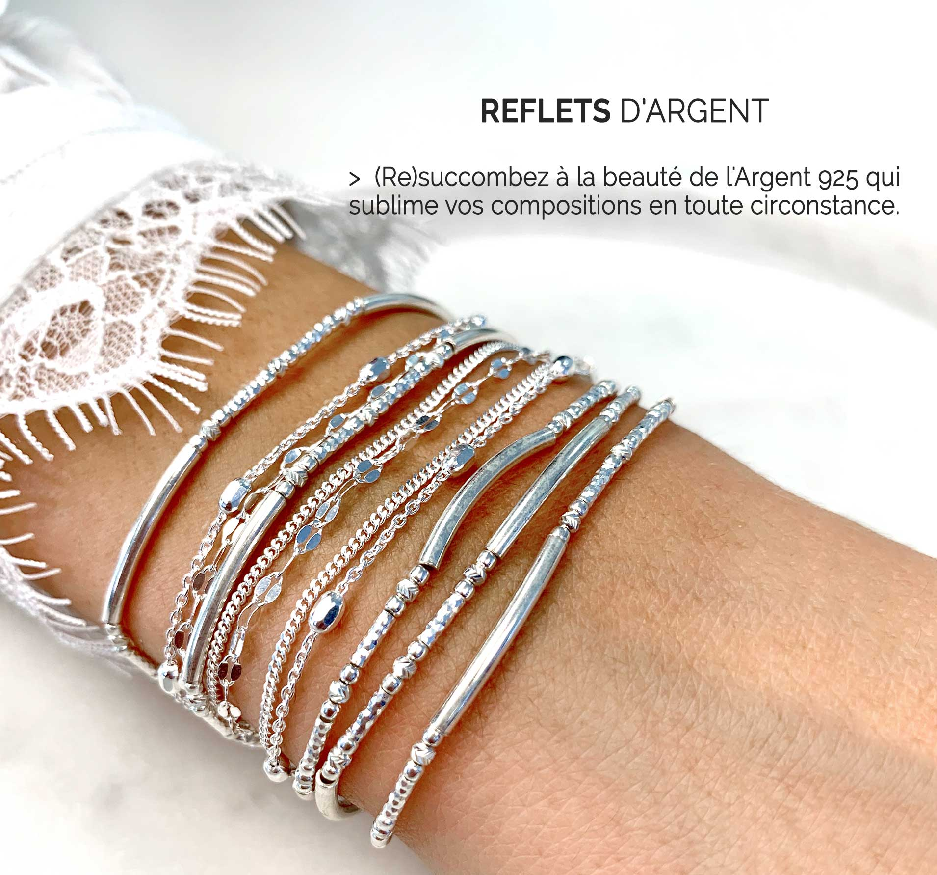 Collection Reflets d'Argent
