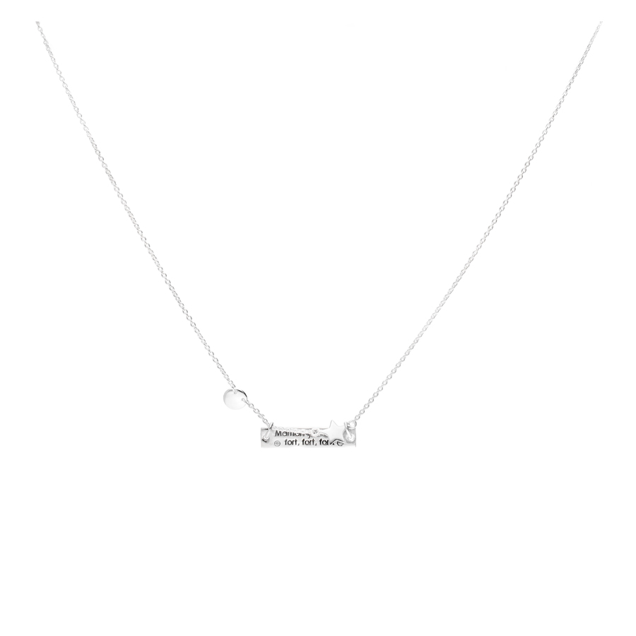 COLLIER MAMAN JE T\'AIME FORT FORT FORT