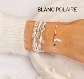 COLLECTION BLANC POLAIRE DORIANE BIJOUX
